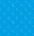 tennis pattern seamless blue vector image