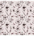 Wallpaper vintage pattern vector image