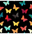 Butterfly Seamless Simple Pattern Background vector image vector image