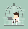 cage vector image
