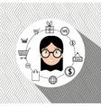 character money buy web vector image vector image