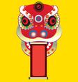 cultural dragon vector image vector image