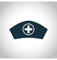Hospital nurse head icon vector image