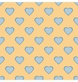 Pretty pastel heart vector image