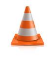 road cone - repair vector image vector image