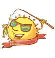 sun character vector image