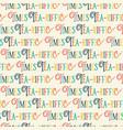 tea-riffic times pun lettering tea time lettering vector image