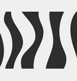 zebra pattern black stripes on a white background vector image