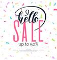 best sale banner original poster for discount vector image