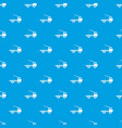 car towing truck pattern seamless blue vector image vector image
