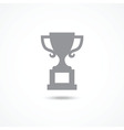 Champions cup icon vector image vector image