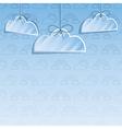 cloud decoration vector image vector image