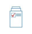 document icon page icon file icon vector image vector image