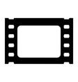 film cinema strip icon vector image vector image
