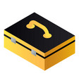 hand tool box icon isometric style vector image vector image
