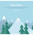 Mountaineering Mountain Climbing Alpinism concept vector image vector image