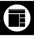 prototype icon vector image