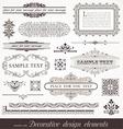 page decor elements vector image