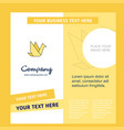 bird company brochure template busienss template vector image