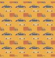 city traffic seamless pattern vector image