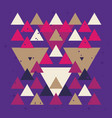 Colorful background with triangle geometric