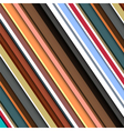 striped pattern in retro colors vector image vector image