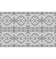 Traditional national embroidered seamless pattern vector image
