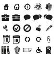 Universal web icons vector image