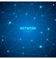 Abstract technology network concept vector image vector image