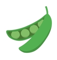 bean icon Vegetable design graphic vector image