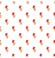 Card football pattern cartoon style vector image vector image
