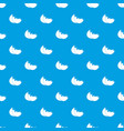 egg shell pattern seamless blue vector image vector image