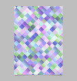 modern trendy abstract square pattern flyer vector image vector image