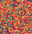 multicolor mosaic seamless pattern vector image vector image