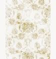 royal baroque texture pattern floral vector image vector image