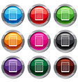 spiral notepad set 9 collection vector image vector image