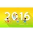 Sport Banner 2016 vector image