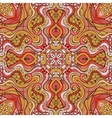 Abstract decorative ethnic floral seamless vector image
