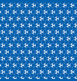 abstract shape blue pattern background vector image vector image