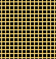 Golden bars on a black background vector image