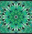 seamless pattern in eastern style colored vector image vector image