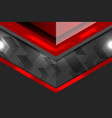 template geometric red grey background