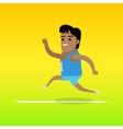 Summer Games Colorful Banner Athletics Sport vector image