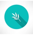 branch and leaves vector image vector image