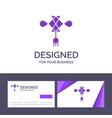 creative business card and logo template chinese vector image