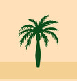 date palm vector image vector image