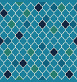 flat moroccan seamless pattern vector image vector image