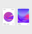 fluid liquid shapes composition wavy geometric vector image