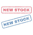 new stock textile stamps vector image vector image