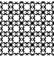 seamless pattern black and white repeating love vector image vector image
